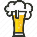 alcohol, beer, beverage, drink, food, glass, pub icon