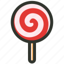 candy, kids lollipop, lollipop, sticky pop, sweet icon