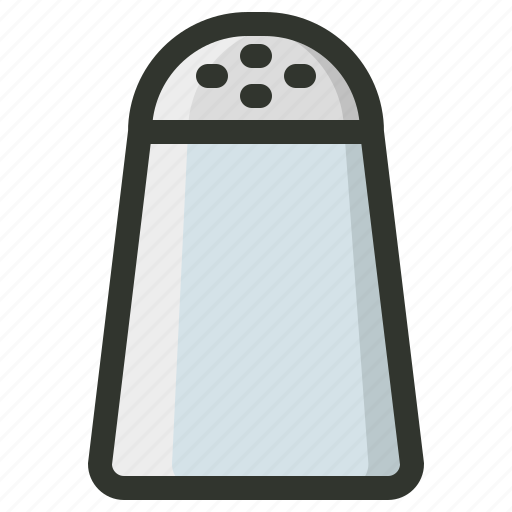 Pepper, pepper mill, salt, shaker, spice icon | Icon ...