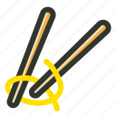 chinese, chopsticks, food, japanese sticks, noodles icon