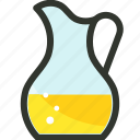beverage, drink, food, jug, juice pitcher, kettle, pitcher icon