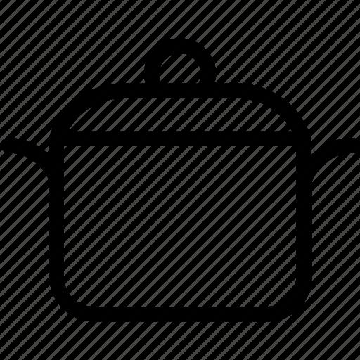 casserole, cooking pot, kitchen, saucepan, utensil icon