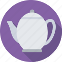 tea, tea kettle, tea pot, tea set, utensil icon