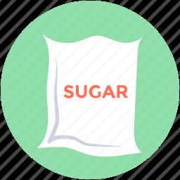 food, food sack, grocery, sugar bag, sugar pack icon