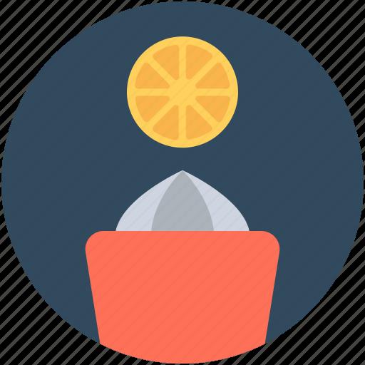 citrus press, lemon juicer, lemon squeezer, manual juicer, orange juicer icon