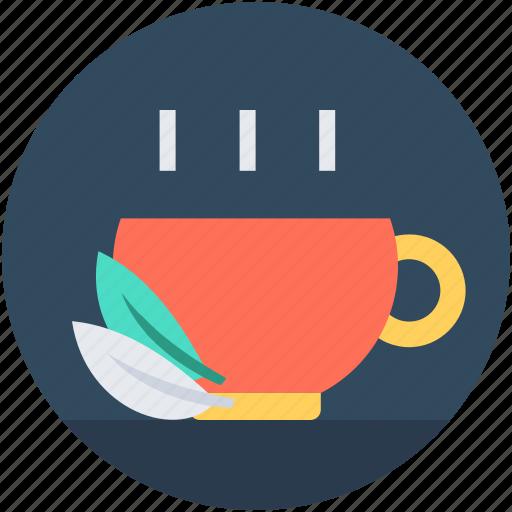 Cup, green tea, herbal tea, hot tea, tea cup icon - Download on Iconfinder