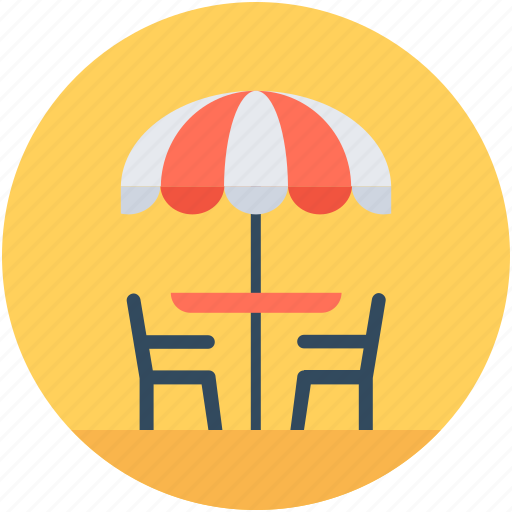 Chair, dining table, furniture, restaurant table, table icon - Download on Iconfinder