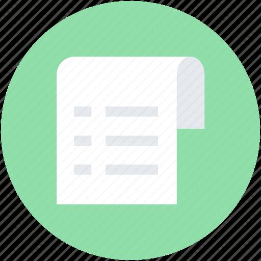 appointment, checklist, list, memo, menu list icon
