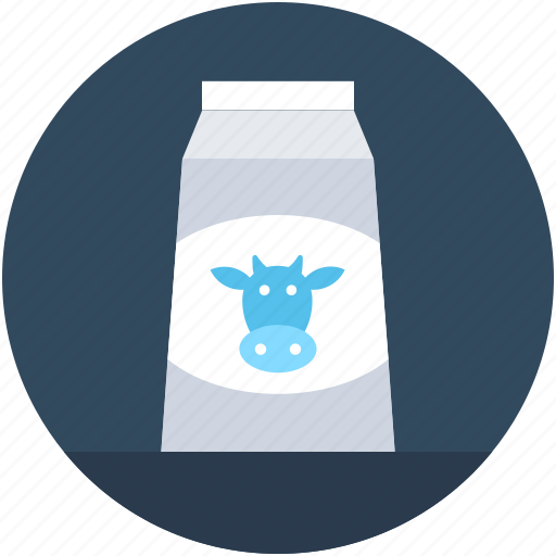 Cow milk, food, liquor food, milk bottle, milk pack icon - Download on Iconfinder