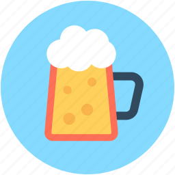 beer mug, beer pint, beer stein, beer tankard, pint glass icon