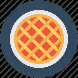 bakery food, dessert, meat pie, pie, sweet pie icon