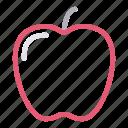 apple, food, fruit, healthy, vitamins icon