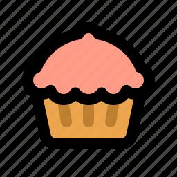 bakery, cake, cupcake, dessert, muffin, sweet, sweets icon