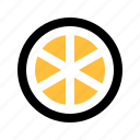 citrus, fruit, grapefruit, juice, lemon, orange, slice icon