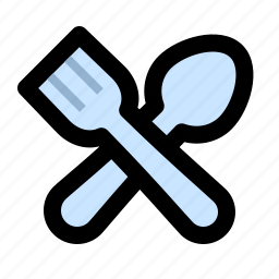 cooking, cutlery, fork, kitchen, restaurant, spoon, utensil icon
