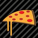 dessert, food, meal, pizza, restaurant