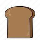 bread, food, kitchen, meal, sandwitch icon