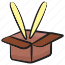 food box, food container, food package, meal box, takeaway meal icon