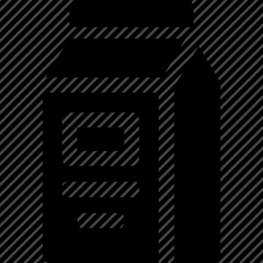 carton, container, dairy, drink, juice, milk icon