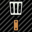 cooking, cutlery, kitchen, spatula, spoon