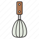 cooking, egg, mixer, spoon, whisk