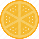 food, fresh, lemon icon