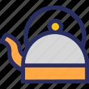 kettle, tea, teakettle, teapot icon