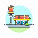 fastfood, food, restaurant icon