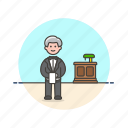 food, host, man, person, restaurant, server, waiter icon