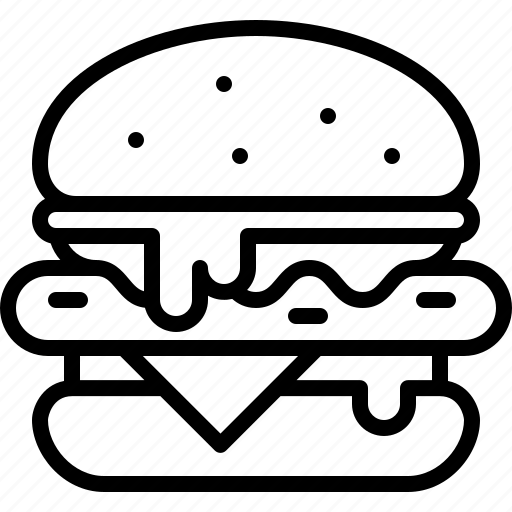 Burger, food, hamburger, meal icon - Download on Iconfinder