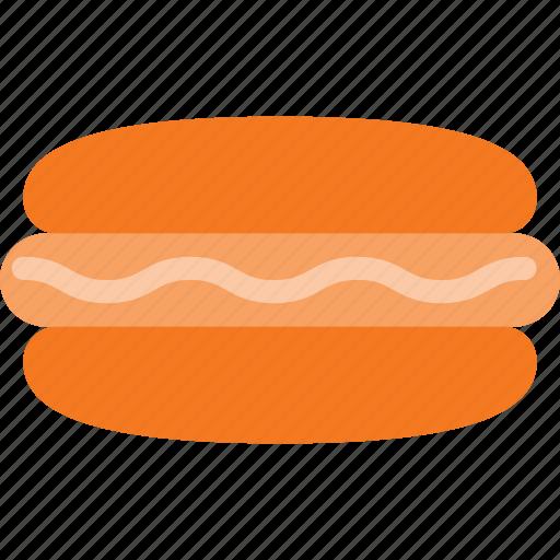 dog, eat, fast, food, hot icon