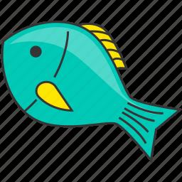 fish, restaurant, sea, seafood icon