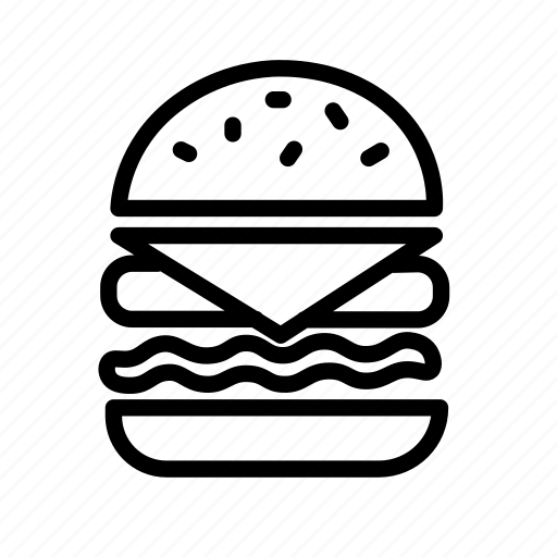 burger, burger king, fast food, food icon