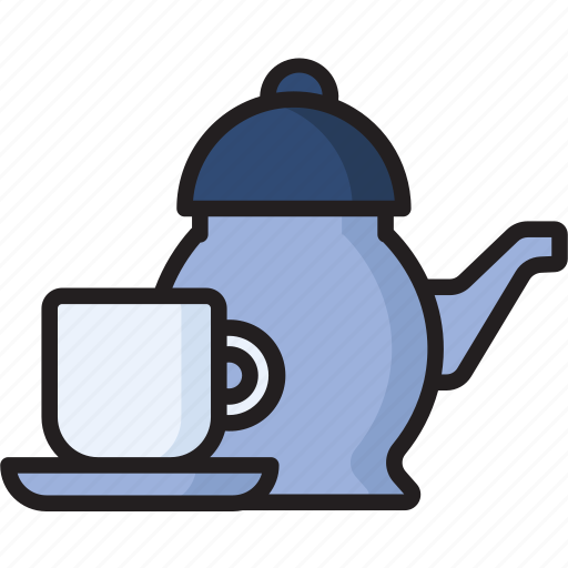 cup, drink, food, tea, tea-pot icon