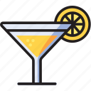 alcohol, cocktail, drink, food icon