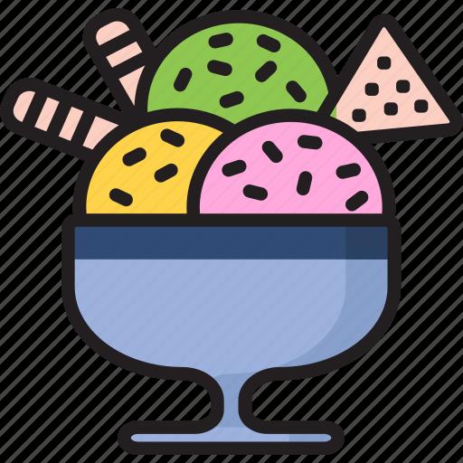 bowl, chips, chocolate, dessert, food, icecream, pack icon