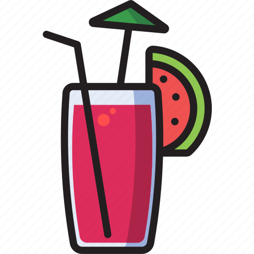 drink, food, glass, mocktail icon