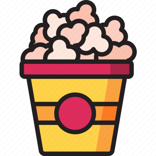 food, popcorn, snacks icon