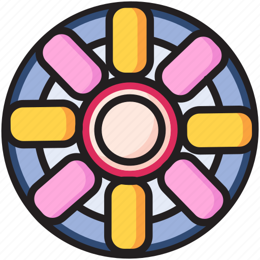 food, rolls, snack icon