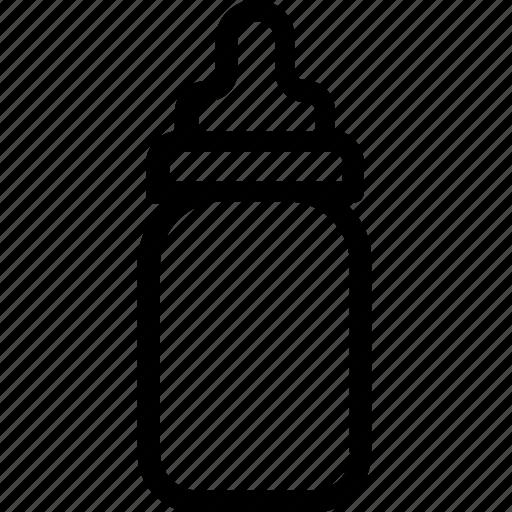 baby bottle, bottle, feeder, food, milk icon