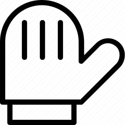 glove, kitchen, mitts, oven mitt, pot holder icon