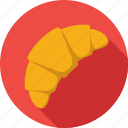 bakery, croissant, food, pastry, snack icon