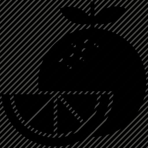 citrus, food, fruit, orange, slice icon