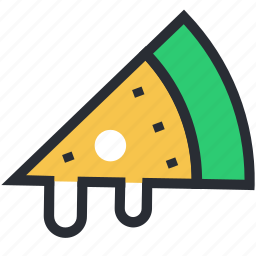 fast food, food, italian food, junk food, pizza slice icon