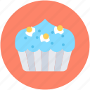 bakery food, cupcake, dessert, fairy cake, muffin