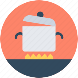 cooking, cooking pot, cookware, food preparation, meal icon