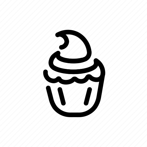 Cupcake, dessert, food, pastry icon - Download on Iconfinder