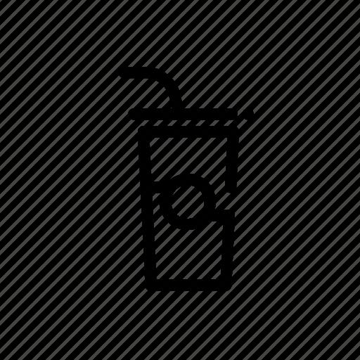 beverage, cup, drink, soda icon