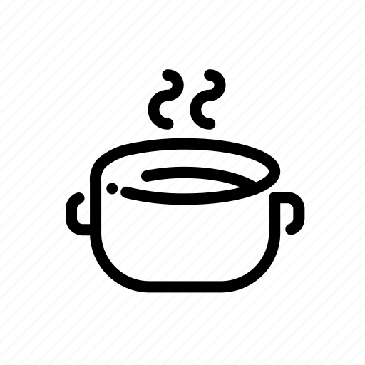 Cook, kitchen, pan, pot, soup icon - Download on Iconfinder