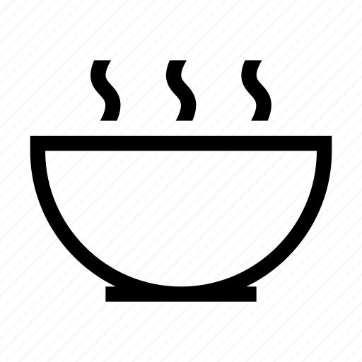 bowl, cooking, cup, food, meal, soup icon